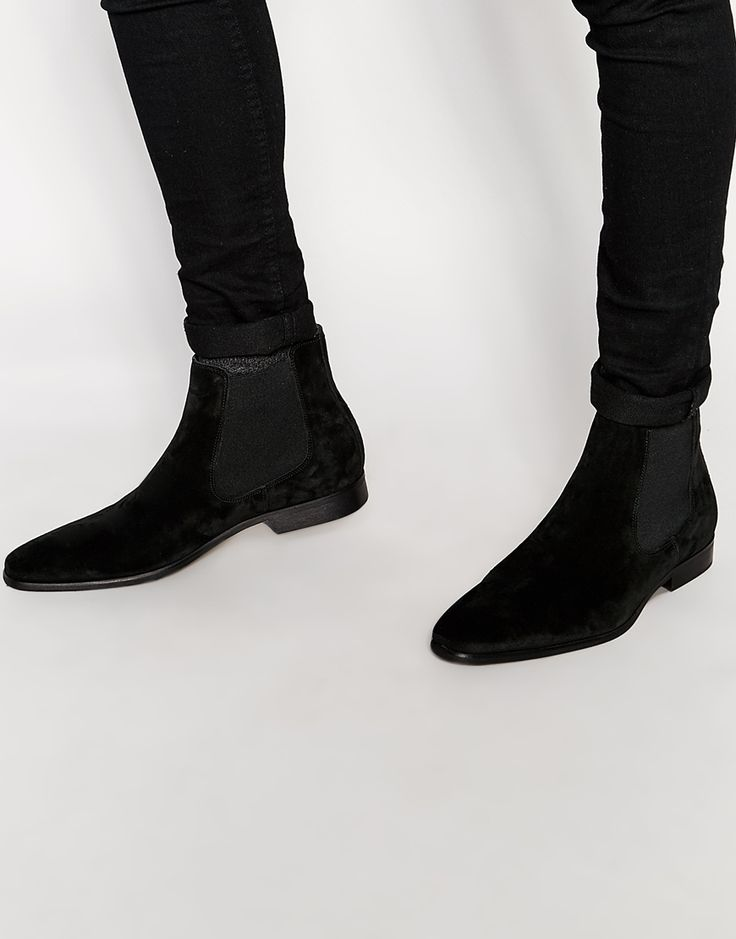 Kurt Geiger Francis Suede Chelsea Boot