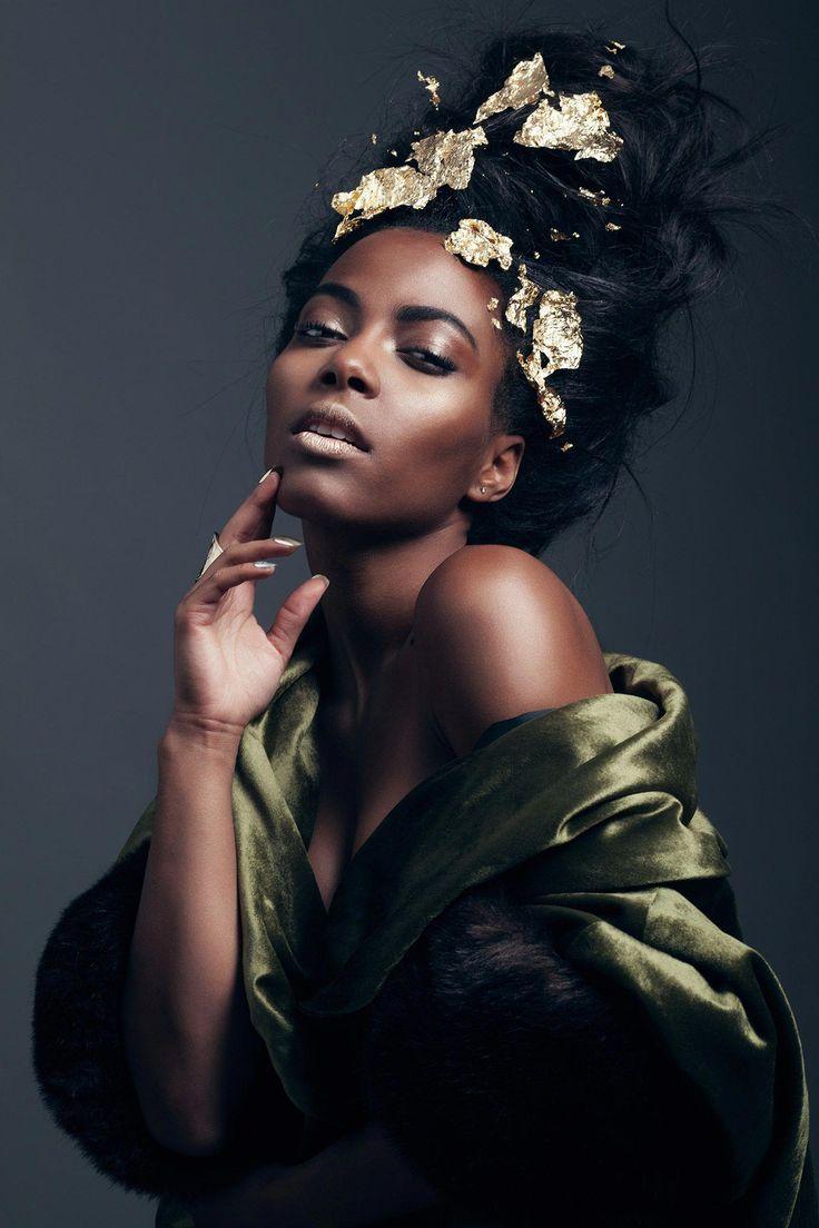 Portrait of black girl #5