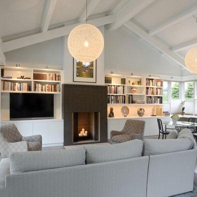 Cincinnati Tv Above Fireplace Design, Pictures, Remodel, Decor and Ideas