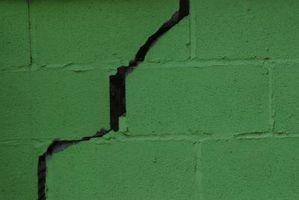 Repairing Cracks in a Cinder Block Basement
