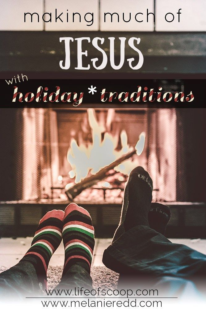 8 Ways to Make Christmas About Jesus - Melanie Redd. #Christmas #holidays