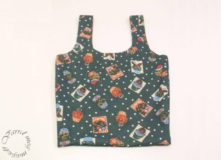 Készíts kifordítható bevásárló táskát!