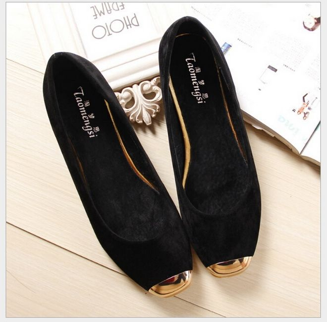 16.90$  Watch now - http://alipjg.shopchina.info/go.php?t=32770784308 - 2017 new fashion Square Toe flat women's shoes Flat-bottomed boat shoes plus size 33-43  #magazine