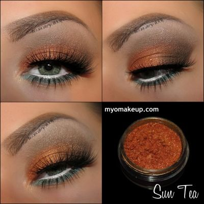 Myo Sun Tea Eyeshadow Pigment Mica Cosmetic Loose Powder Mineral Makeup