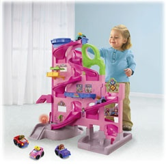 Little People Wheelies Stand n Play Rampway Gift Set (Pastel) - Fisher-Price Online Toy Store