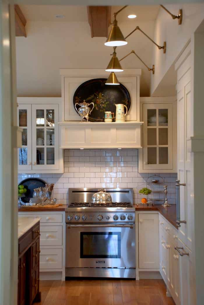 Mary Carol Garrity's Kitchen in her newly renovated cottage bungalow home featured on Between Naps on the Porch