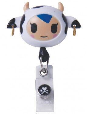 Koi Tokidoki Retractable ID Badge Reel Shop TokiDoki from Koi #Koi #Tokidoki #Scrubs #nurses