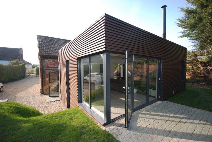 Knappings Barn, Cheltenham ECA Architecture & Planning Lunawood (Thermawood) - Finnish Pine & Spruce