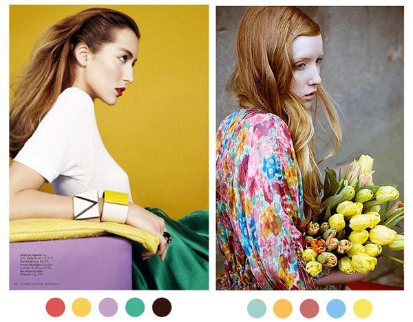 Fashion/Interiors: Color Palette Inspiration