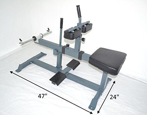 Seated Calf Raise Machine Leg Unit Ad…