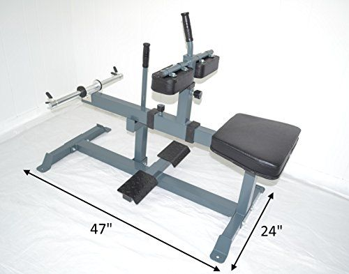 Seated Calf Raise Machine Leg Unit Ad…
