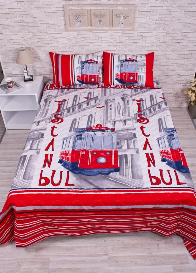Club-E İstanbul Color Çift kişilik yatak örtüsü takımı - istanbul color Markafoni'de 280,00 TL yerine 139,99 TL! Satın almak için: http://www.markafoni.com/product/3361522/