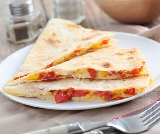 Pofonegyszerű vegetáriánus quesadilla Recept képpel - Mindmegette.hu - Receptek