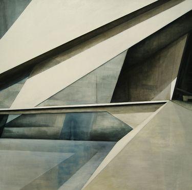 "Saatchi Art Artist Daniel Mullen; Painting, ""Under Construction"