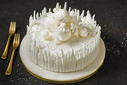 M&S Collection Ice Shard Cake