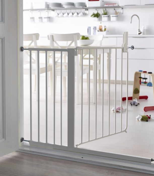 You can mount the PATRULL safety gate both inside and outside of a door frame and in other places you feel the need to protect your child's safety, like below or on top of staircases.