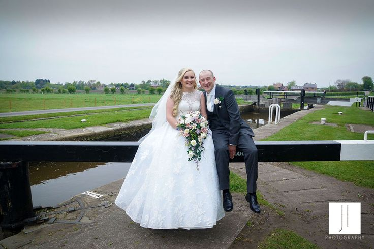Mr & Mrs Taylor down by the canal for a few images.  #bride&groom #bride #groom #wedding #briarshall #ormskirk #burscough #canal #canalwedding #water #weddingphotos #bride&groom #happycouple #Lancashire