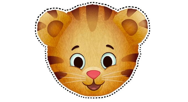 Daniel Tiger Masks Birthday Party Favors Pbs Parents