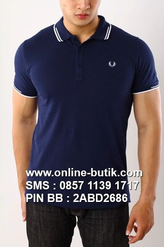 POLO SHIRT FRED PERRY PREMIUM | Kode : PSP FRED PERRY 8 | Rp. 220,000