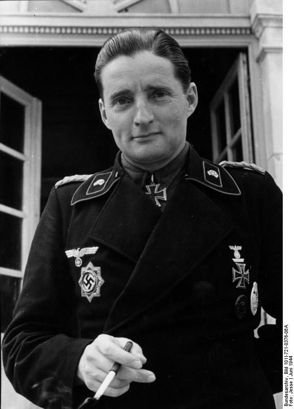 Hermann Leopold August Opole-Bronikowski was a general during WW2 and gold medalist in the team dressage during the Berlin Olympics, 1936. He came from an old aristocratic family; during WW2 he was a Panzer commander. He was badly wounded in 1943 and returned to duty in 1944.He fought in Normandy and was last commander of 20.Panzer Division.Postwar, he was held as POW until 1947 and then became an adviser for the new German army.He also coached the Canadian dressage team in the Tokyo…