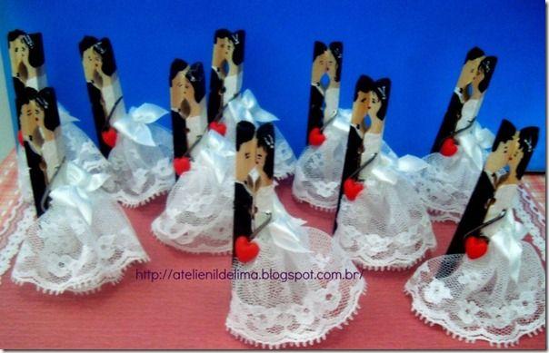 Ganchos de ropa souvenirs bodas frases amor imagenes y - Manualidades para una boda ...