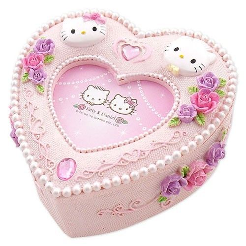 20 best jewelry boxhello kitty images on Pinterest Hello kitty