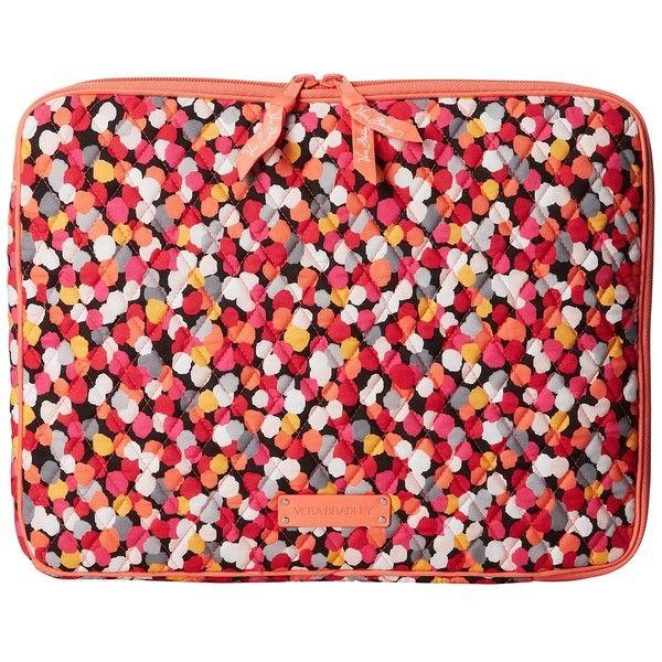 Vera Bradley Laptop Sleeve Computer Bags ($38) ❤ liked on Polyvore