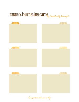 Index Cards With Tabs Love Her Printables And She Has Some Super Cute Sbook Layouts