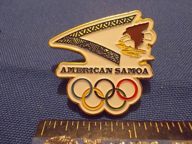 2016 Rio Olympic NOC Pin American Samoa Dated