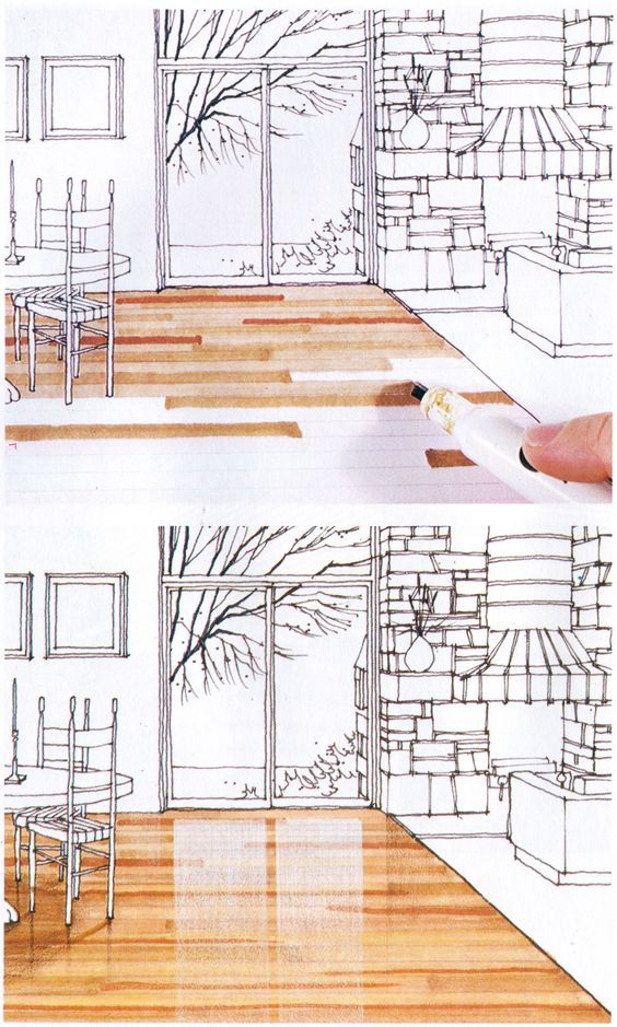 Architecture Design Drawing Techniques 36 best perspective drawings (bedroom) images on pinterest