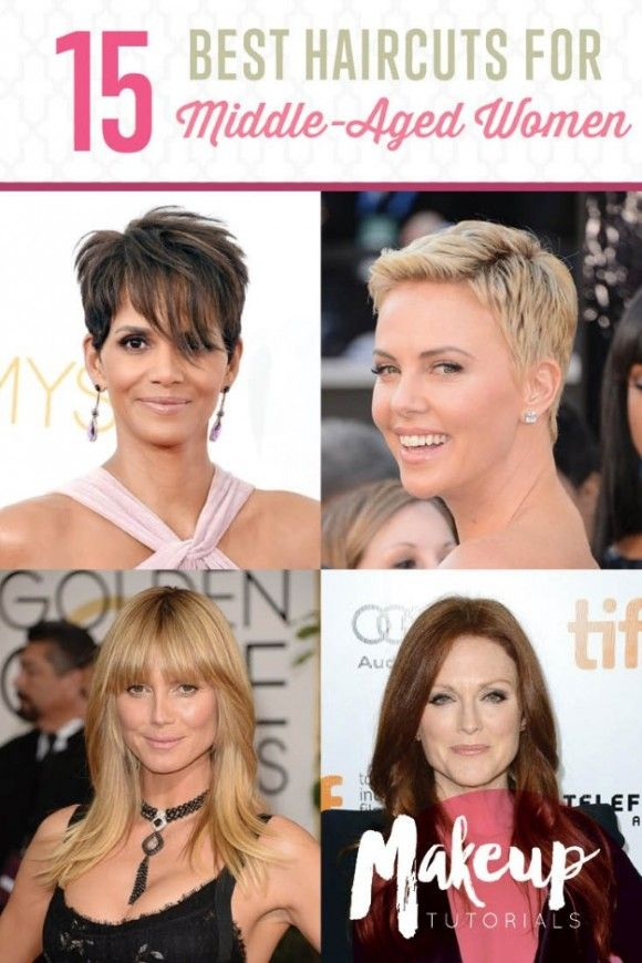 Age Gracefully With These Popular Haircuts   Best Hairstyles For Over 50 Ladies by Makeup Tutorials at http://makeuptutorials.com/15-haircuts-for-older-women-ideas-and-tips/