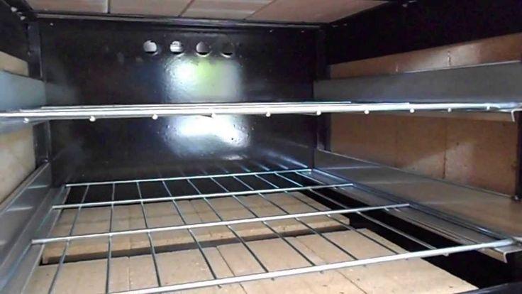 Cocina industrial con horno pastelero abovedado - 60 cm - www.cocinasmga...