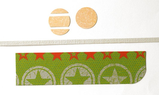 Make Your Own Skateboard Embellishment 1; cut as shown
