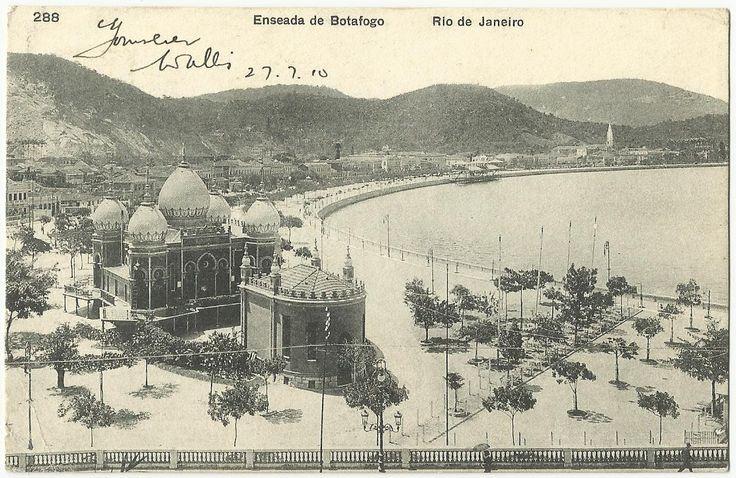 antigo Pavilhão Mourisco da Praia de Botafogo (Rio de Janeiro)   Um ...
