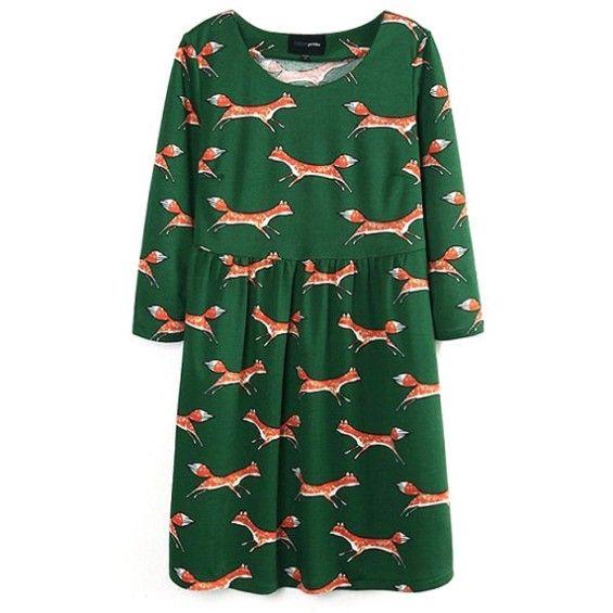 Cute Fox Dress