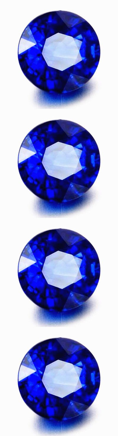 Other Sapphires 164408: 3.50Ct Synthetic Blue Sapphire 9Mm Round Shape Aaaa Gemstone -> BUY IT NOW ONLY: $69.99 on eBay!