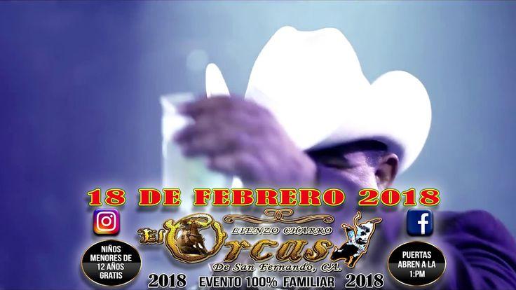 CHUY LIZARRAGA LIENZO CHARRO EL ORCAS DE SAN FERNANDO CA - DOMINGO 18 DE...