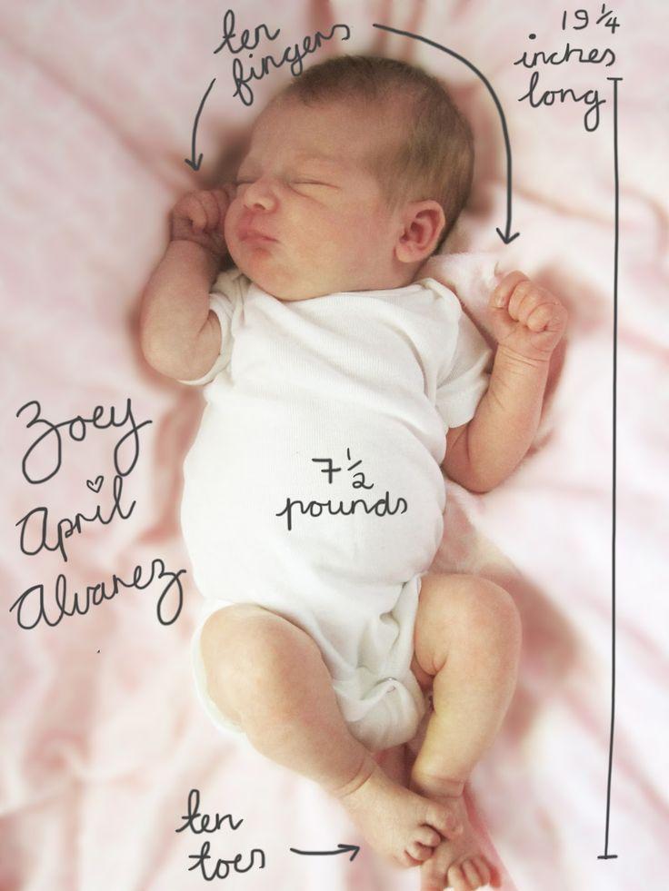 Baby Faire-Part Picture...♡