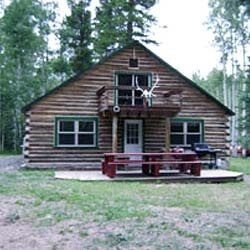 Colorado Hunting Lodge in incredible location for self guided Elk and Mule Deer