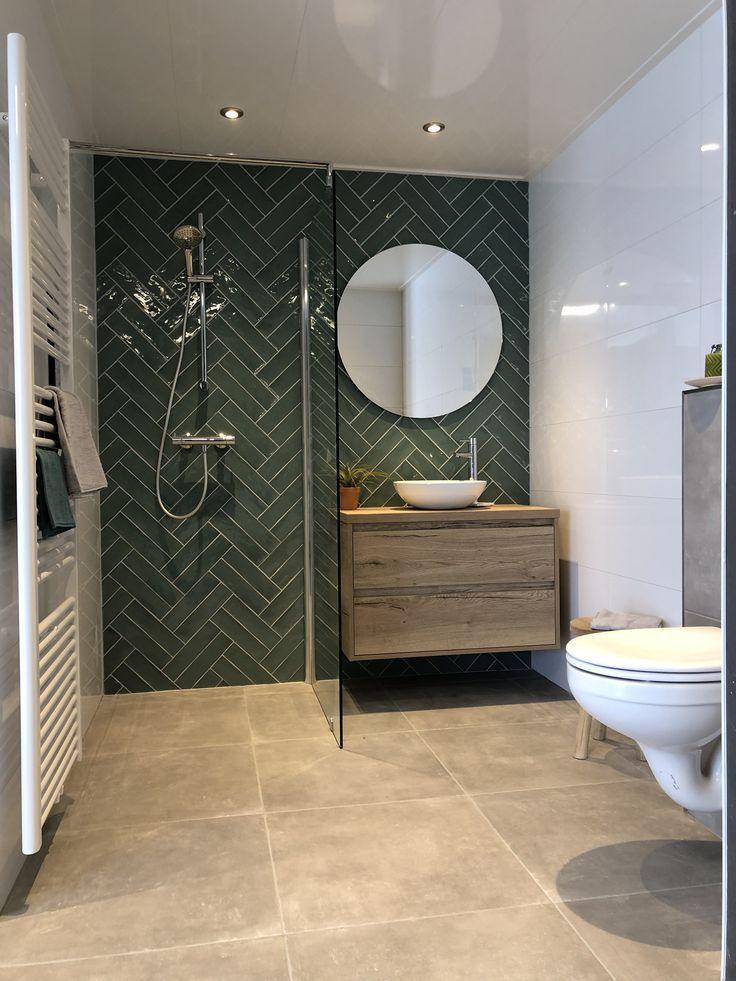 Fantastisches Badezimmer mit einem doppelten Fisch…