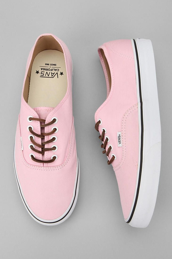 Vans California Brushed Twill Authentic Sneaker. These are so cute and vintage! Love this style❤️❤️ #pastelpink07