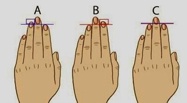 Co o vás prozradí vaše prsty