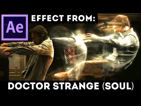 After Effects Tutorial - Soul Effect from Doctor Strange movie