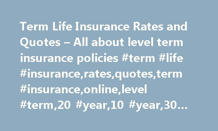 Guaranteed Life Insurance Quotes: Best 25+ Term Life Insurance Quotes Ideas On Pinterest