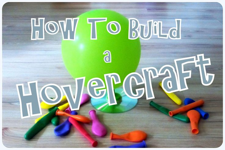 Build your own hovercraft toy using a compact disc and a balloon. Pretty simple ! Hovercraft use blowers to produce a large volume of air below the hull that...