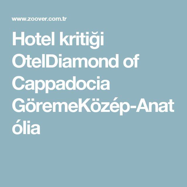 Hotel kritiği OtelDiamond of  Cappadocia GöremeKözép-Anatólia  #Diamond of #Cappadocia #Hotel https://www.tripadvisor.com.tr/Hotel_Review-g297983-d8326584-Reviews-Diamond_of_Cappadocia_Hotel-Goreme_Cappadocia.html