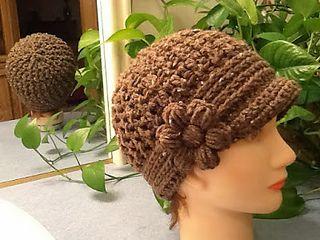 Glori-Jam Hat, free crochet pattern by Gloria Clayton and James Lee Kelley
