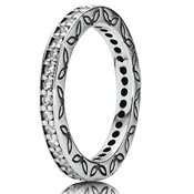 Pandora eternity ring (clear)