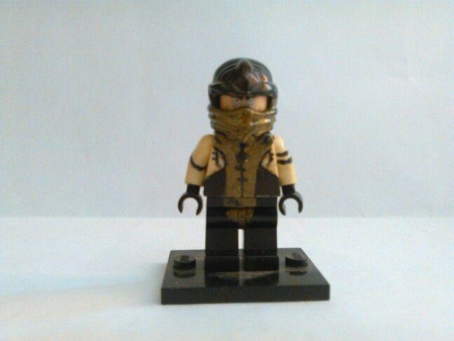 Lego my custom scorpion by mortal kombat x