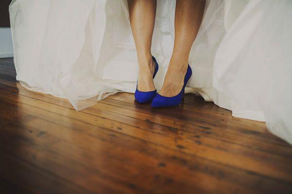 blue suede heels | Ariel Renae #wedding